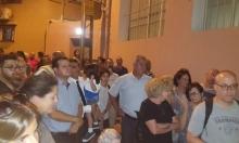 يافا: اجتماع شعبي في الحي المنكوب ببؤرة استيطانية