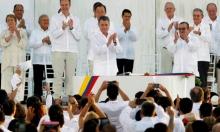 """الحكومة الكولومبية و""""فارك"""" توقعان اتفاق سلام تاريخيا"""