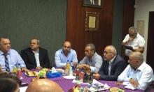 وفد المشتركة يزور بلدية الناصرة ويلتقي علي سلام
