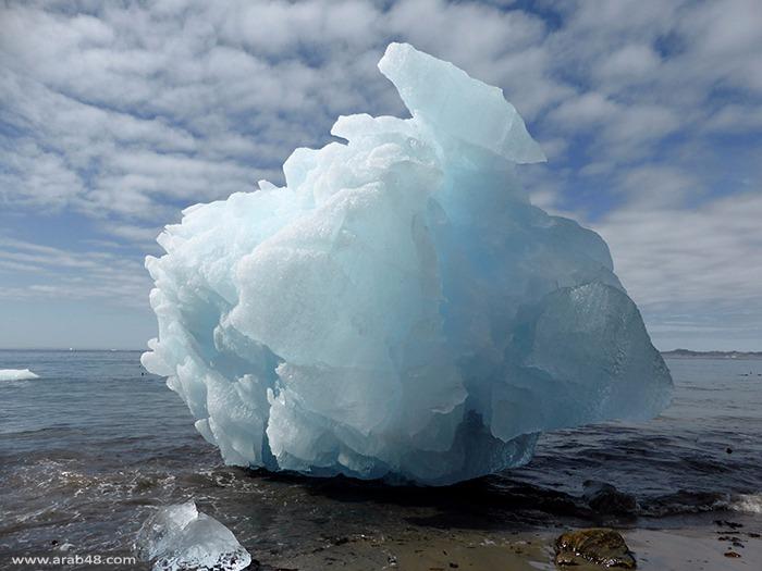 الاحتباس الحراري يكشف مدينة نووية سرية تحت الجليد