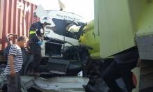 مصرع سائق شاحنة في حادث قرب أسدود