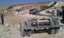 مصرع 4 فلسطينيين جراء انقلاب جرار زراعي في بني نعيم