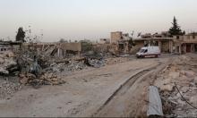 القصف الجوي يدمر بالكامل أكبر مشافي حلب