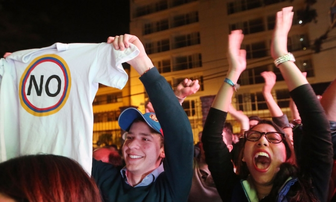 """كولومبيا: غالبية المشاركين بالاستفتاء ضد اتفاق السلام مع """"فارك"""""""