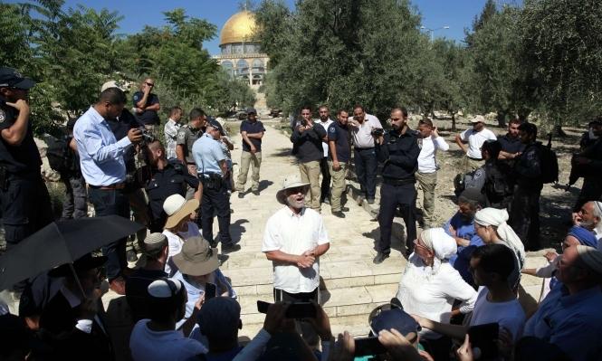 """نشطاء من عرب الداخل يدعون لـ""""النفير"""" إلى القدس"""