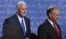 المتنافسان على منصب نائب الرئيس ينتقدان ترامب وكلينتون