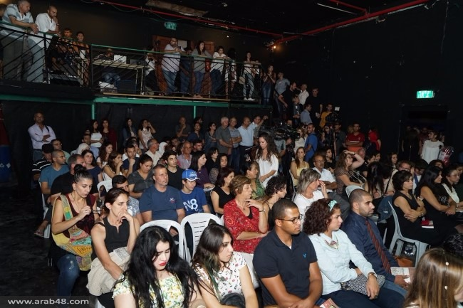 """مشاركة واسعة بافتتاح """"قلنديا الدولي"""" و""""أهل البحر"""" في حيفا"""