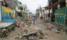 """""""ماثيو"""" يصل فلوريدا بعد تدمير هاييتي"""