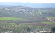 الاحتلال ينوي مصادرة مئات الدونمات جنوب نابلس