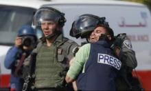 233 انتهاكًا بحق الصحافيين الفلسطينيين