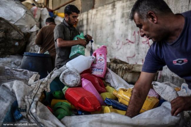 النفايات البلاستيكية: أزمة بيئية تجتاح القطاع المحاصر