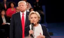 ترامب يشن هجوما على بيل كلينتون خلال المناظرة الثانية