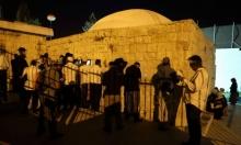 """نابلس: مواجهات إثر اقتحام مئات المستوطنين """"قبر يوسف"""""""