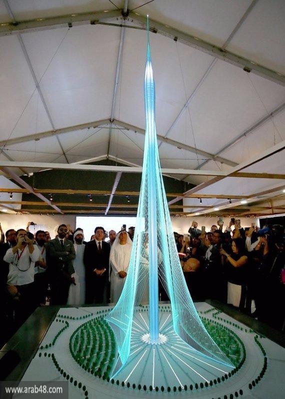 """بناء برج يفوق """"برج خليفة"""" طولًا بدبي"""