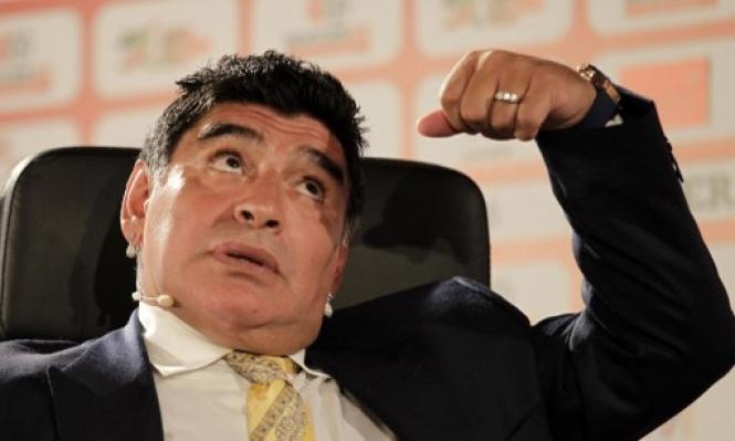 مارادونا: تحتاج 40 لاعبا لتصنع مثل هذا اللاعب!