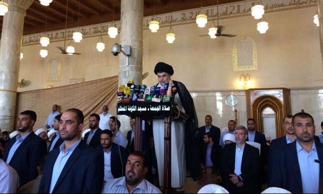الصدر يدعو أنصاره لحشد تظاهرات ضخمة الأسبوع المقبل