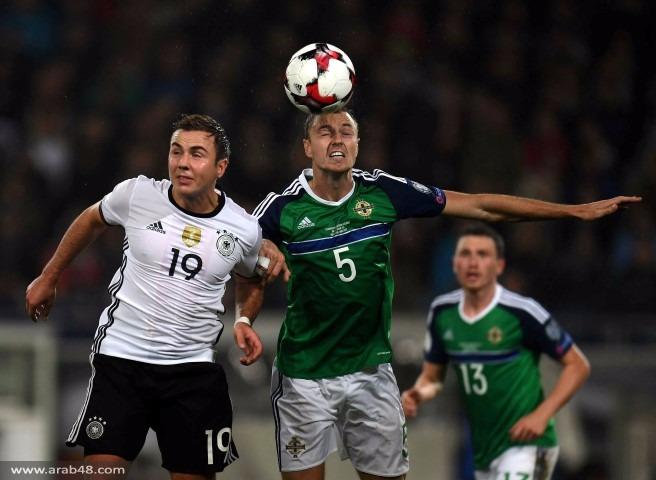 ألمانيا تعزز صدارتها بالفوز على إيرلندا الشمالية