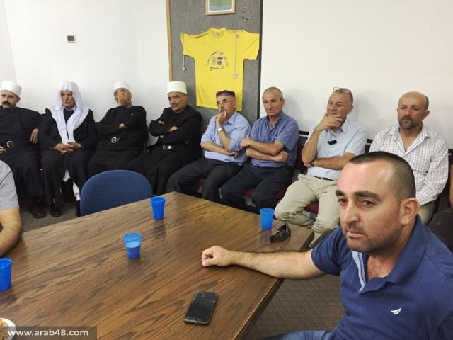 بيت جن: استهداف عمارة سكنية بالرصاص الحي