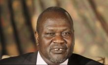 زعيم متمردي جنوب السودان غادر الخرطوم إلي جنوب أفريقيا