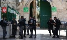 إجراء استفزازي: الاحتلال يفتش شبانا داخل المسجد الأقصى
