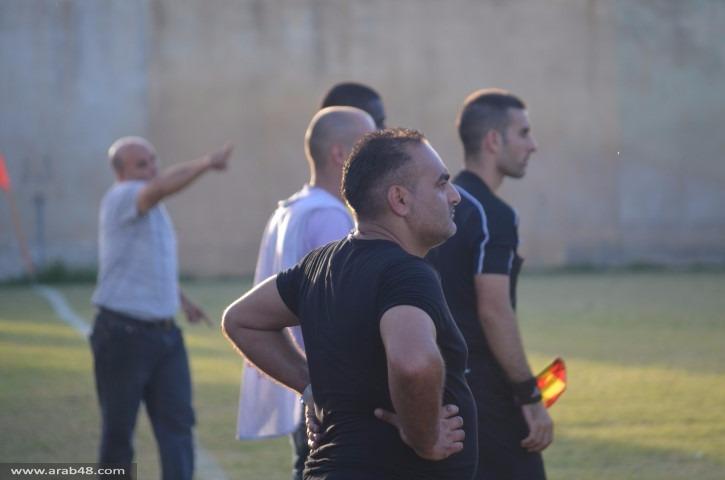 صور: م. نحف يفوز بعشرة لاعبين على هـ. البعينة