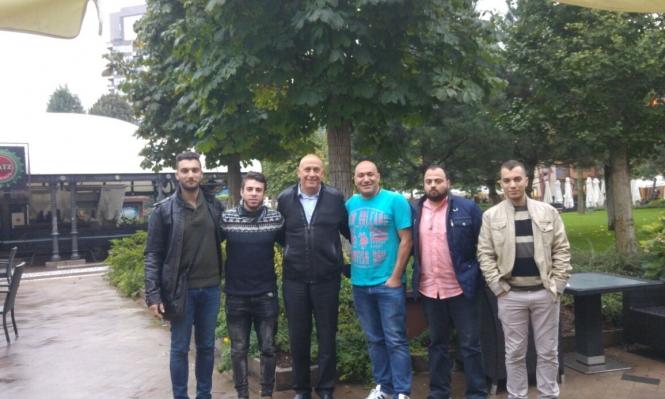 غطاس في رومانيا لمتابعة أزمة الطلاب العرب