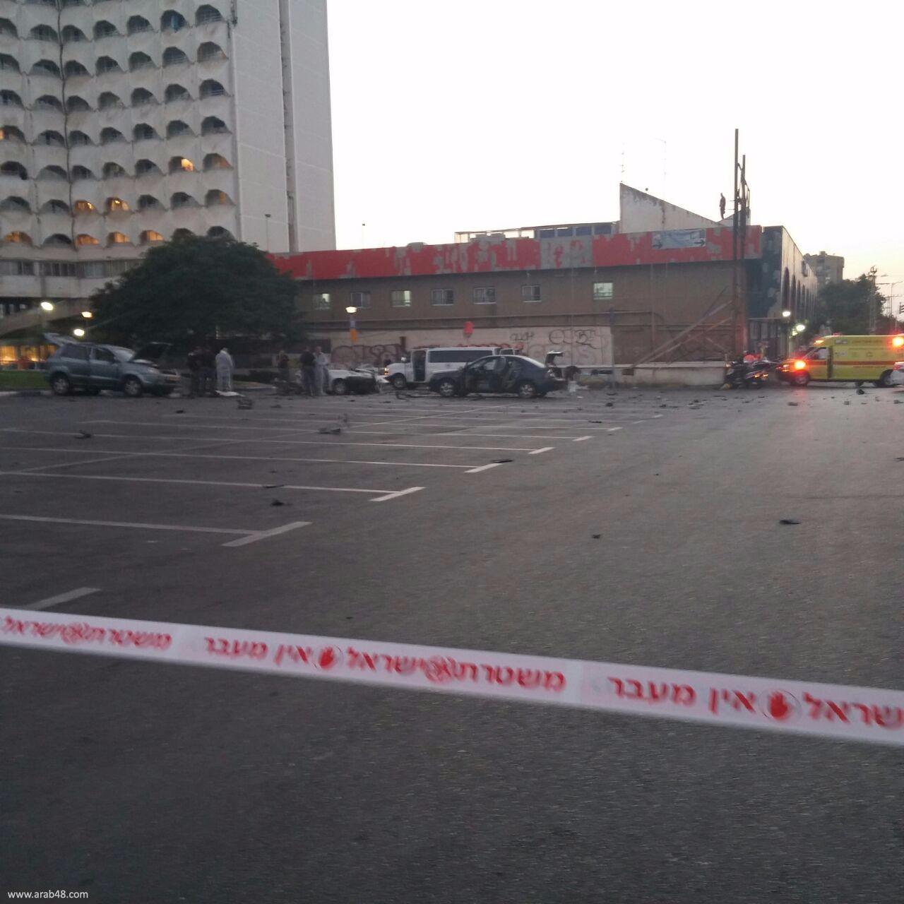 تل أبيب: مقتل عربي من يافا في انفجار سيارة