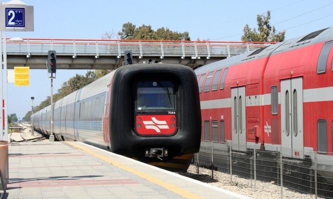 إسرائيل تدشن سكة القطار بين حيفا وبيسان