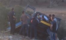إصابة خطيرة في حادث طرق قرب طمرة
