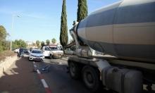 بسمة طبعون: إصابة خطيرة لإمرأة دهستها شاحنة