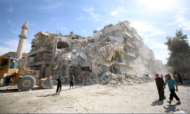 روسيا تعلن وقف الغارات في حلب