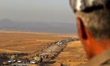 عراقيون يفرون مع ازدياد سخونة معارك استعادة الموصل