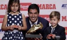 """""""الحذاء الذهبي"""" لسواريز كأفضل لاعب بدوريات أوروبا"""