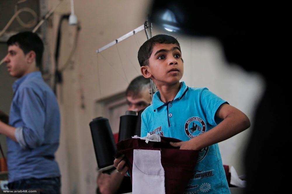 تحقيق: استغلال أطفال لاجئين بمصانع ألبسة عالمية