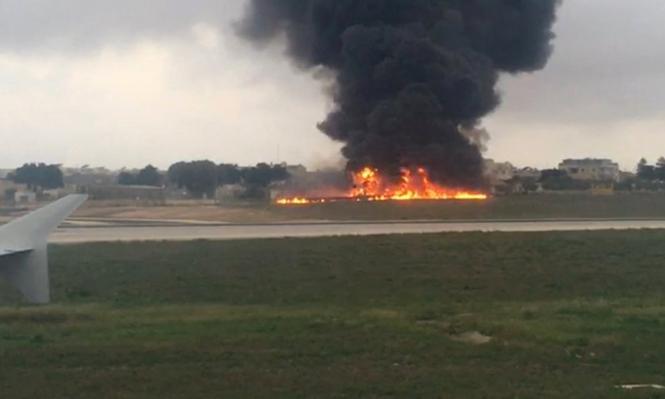 مالطا: قتلى تحطم الطائرة من موظفي الجمارك الفرنسيين