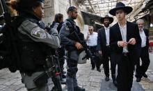 المستوطنون يقتحمون الأقصى والاحتلال يحجبه عن الفلسطينيين