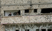 """""""إعمار غزة لم يكتمل""""... معرض صور"""