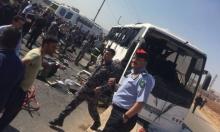 إربد: 6 قتلى و37 جريحا جراء انقلاب حافلة