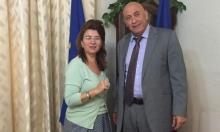 غطاس يتوصل لحل مسألة تأشيرة الطلاب مع السفيرة الرومانية