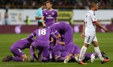 فوز عريض لريال مدريد بكأس ملك إسبانيا