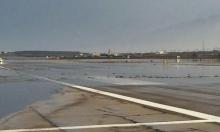 الأمطار الغزيرة تتسبب بفيضانات وإغلاق مطار إيلات