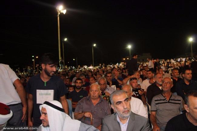 كفر قاسم: الآلاف يشاركون في مهرجان ذكرى المجزرة الـ60