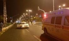 معليا: إصابة حرجة لشاب تعرض لحادث دهس