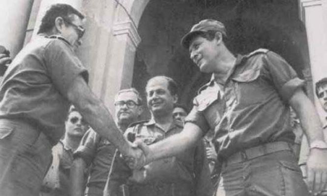 للتاريخ: عون جاهر بالتخطيط لتل الزعتر ومصافحة الإسرائيليين
