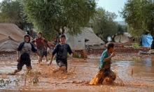 هربوا من قصف روسيا والأسد ليغرقوا بالفيضانات