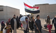 """موجة نزوح من الموصل مع احتدام المعارك بـ""""حي الانتصار"""""""