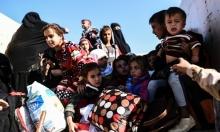 الأطفال رهائن معارك الموصل