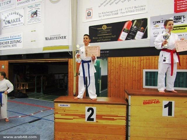 11 ميدالية وكأس لمتسابقين عرب في بطولة عالمية للكراتيه