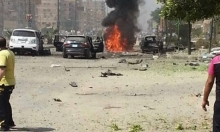 انفجار سيارة مفخخة في مدينة نصر بالقاهرة