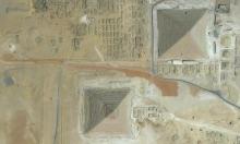 هكذا تبدو الأهرامات للناظر من الأعلى (صورة جوية)